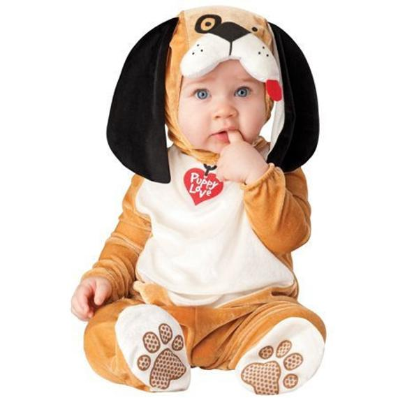 Puppy Love Baby Costume | Animal Halloween Costumes for Kids, Adults - FarmFoodFamily.com