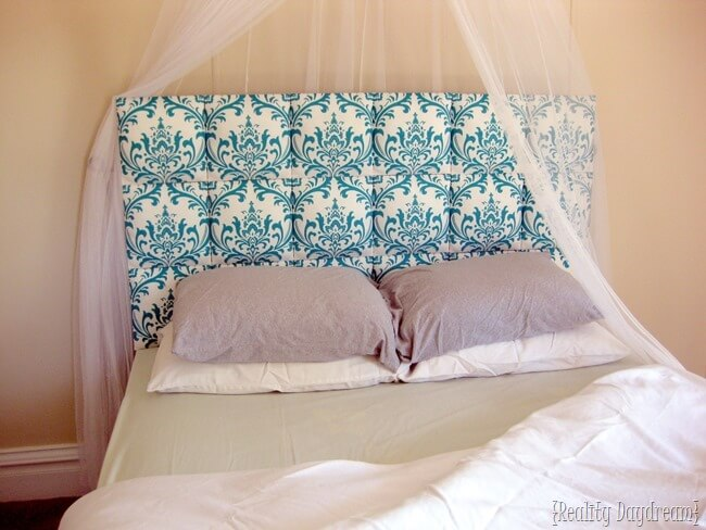 DIY Upholstered Headboard | DIY Headboard Decoration Ideas for Bedroom