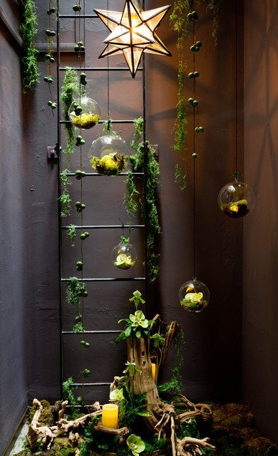Hang a garden inside | Smart Mini Indoor Garden Ideas DIY - FarmFoodFamily.com