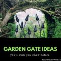 39 DIY Garden Gate Ideas and Projects