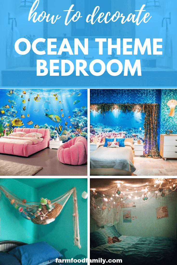 How to decorate an ocean/under the sea bedroom