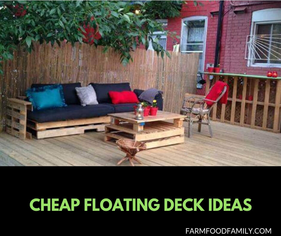 Cheap Gardening Ideas: 21 Easy And Inexpensive Floating Deck Ideas For Your Backyard