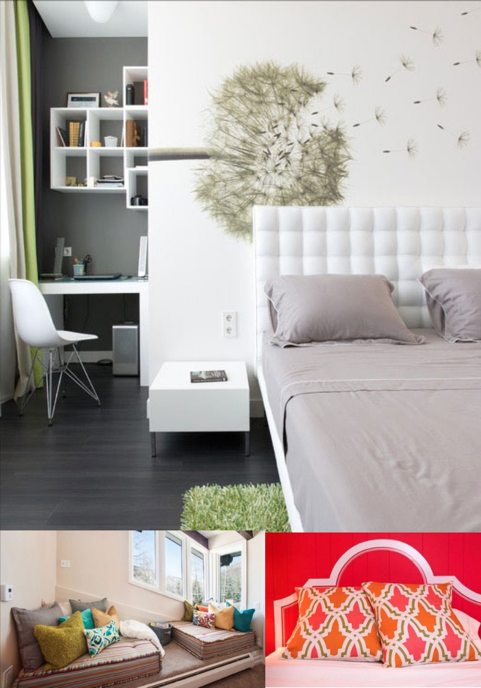 A Multi-Purpose Room | Decorating Teen Bedrooms: Transforming a Child's Room with Teenage Décor - FarmFoodFamily.com