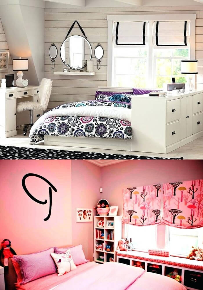 Simple and cool rooms | Decorating Teen Bedrooms: Transforming a Child's Room with Teenage Décor - FarmFoodFamily.com