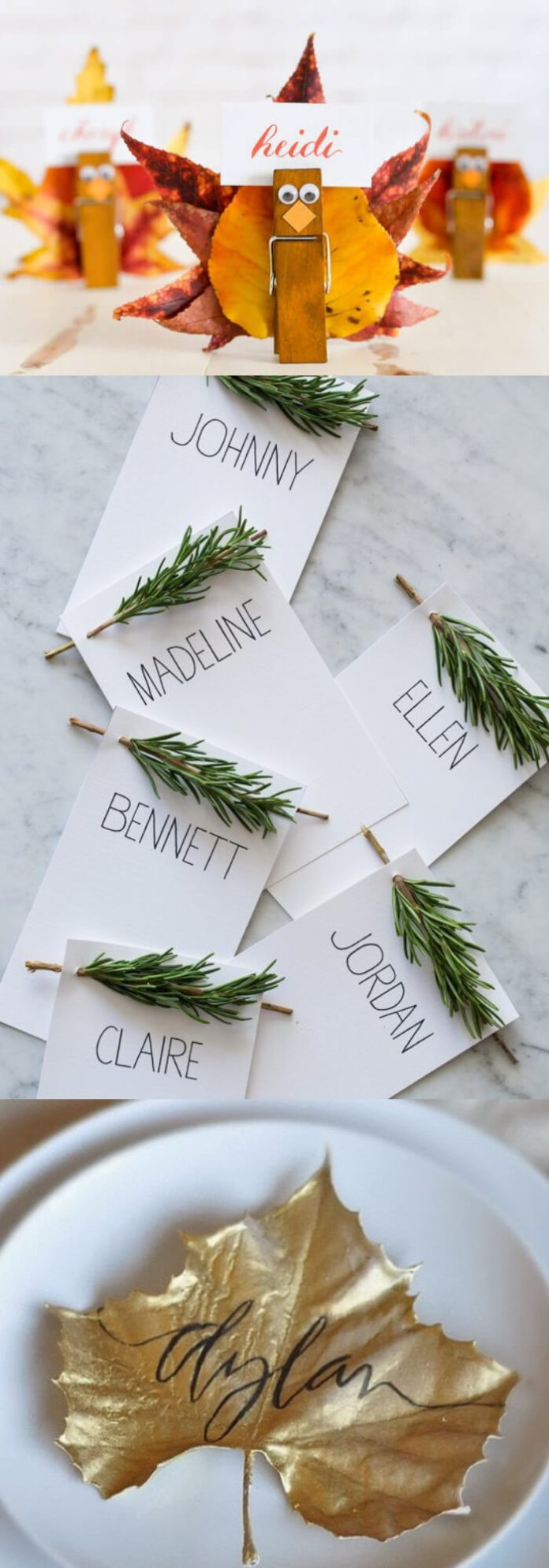 Place card for thanksgiving   Thanksgiving Gifts Kids Can Make - FarmFoodFamily.com