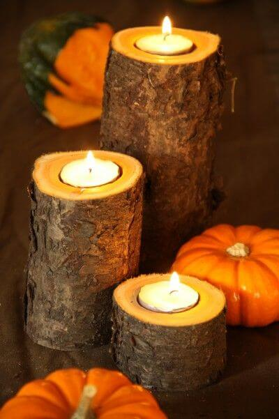 Easy Fall Candle Project | DIY Fall Candle Decoration Ideas - Farmfoodfamily.com
