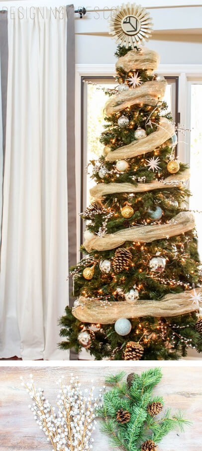 Christmas Tree Decorations Ideas.25 Inexpensive Christmas Tree Decorating Ideas Farmfoodfamily