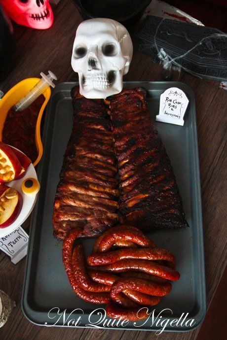 Body Ribs | Halloween Party Food Ideas | Halloween Party Themes For Adults