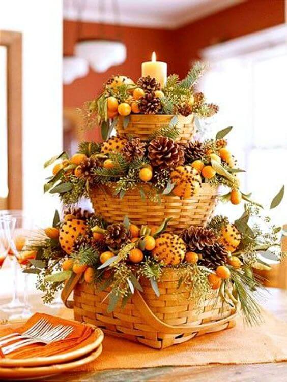 Thanksgiving Buffet | Best Thanksgiving Centerpieces