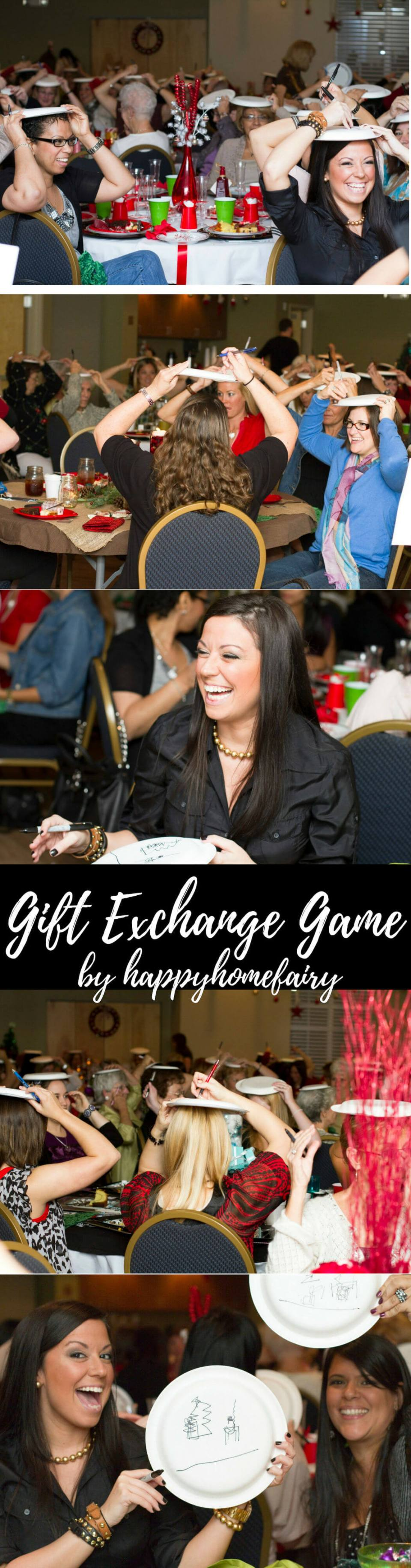 Gift Exchange Game   Christmas Party Games for Adults - FarmFoodFamily.com
