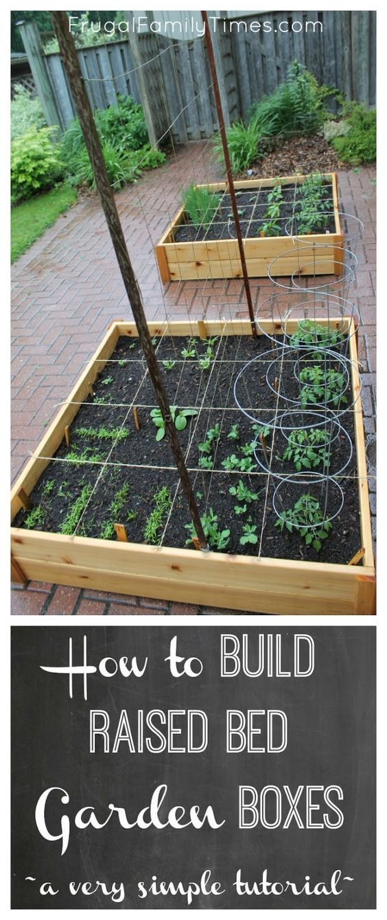 How to build simple garden beds | How to Build a Raised Vegetable Garden Bed | 39+ Simple & Cheap Raised Vegetable Garden Bed Ideas - farmfoodfamily.com