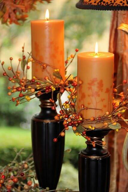 Fall Candles | DIY Fall Candle Decoration Ideas - Farmfoodfamily.com