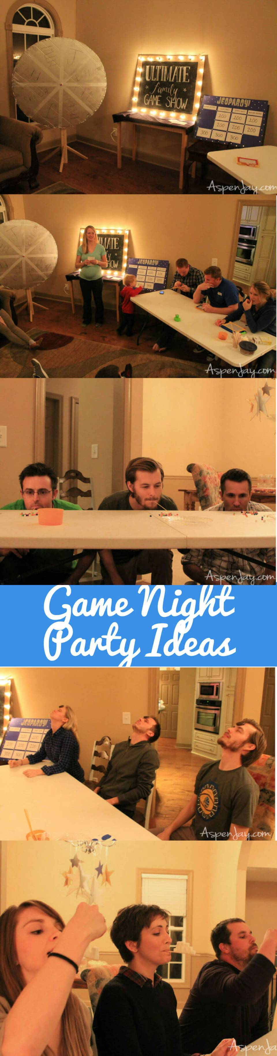 Fun Game Night Party Ideas | Christmas Party Games for Adults - FarmFoodFamily.com