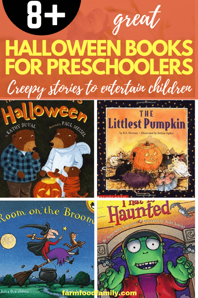 Great Halloween Books for Preschoolers: Creepy Stories to Entertain Young Children