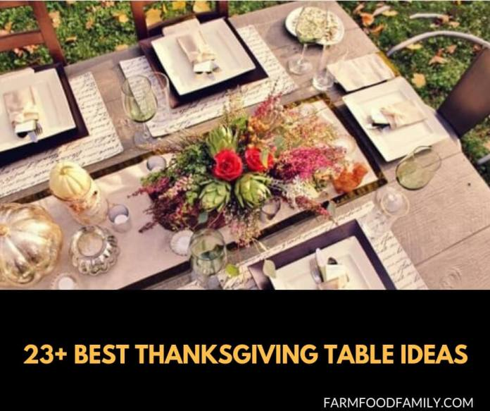 Best Thanksgiving Table Ideas