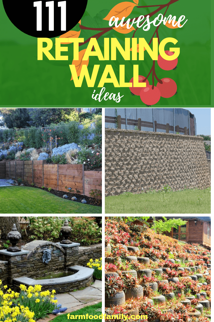 How to build a retaining wall | 111+ Retaining Wall Ideas