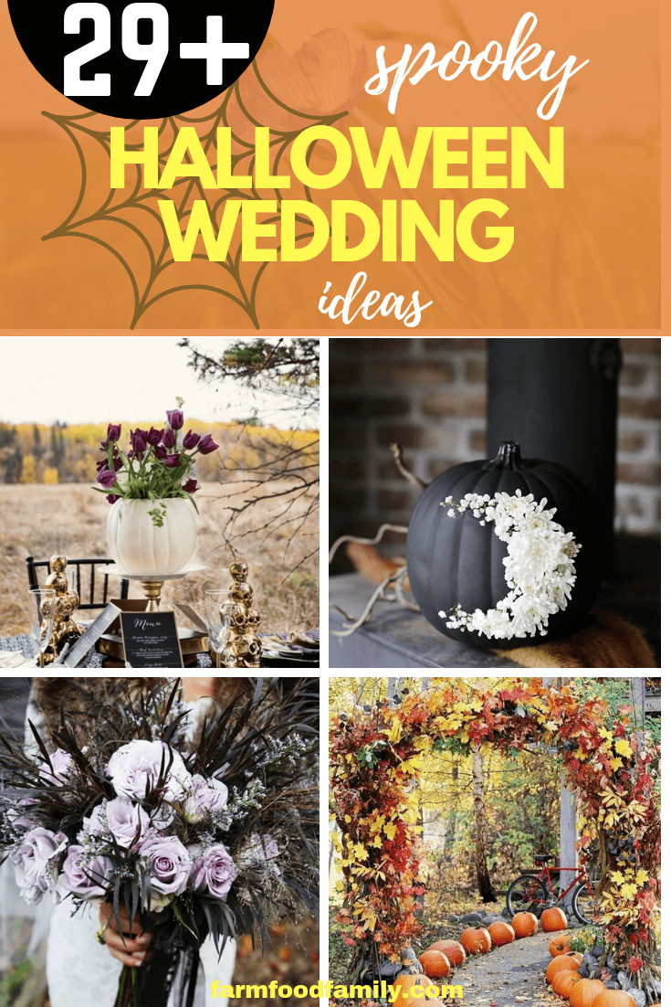 Halloween Wedding Theme Ideas