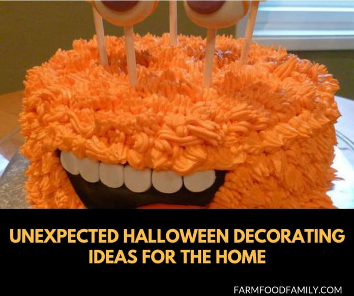 23+ Unexpected Halloween decorating ideas