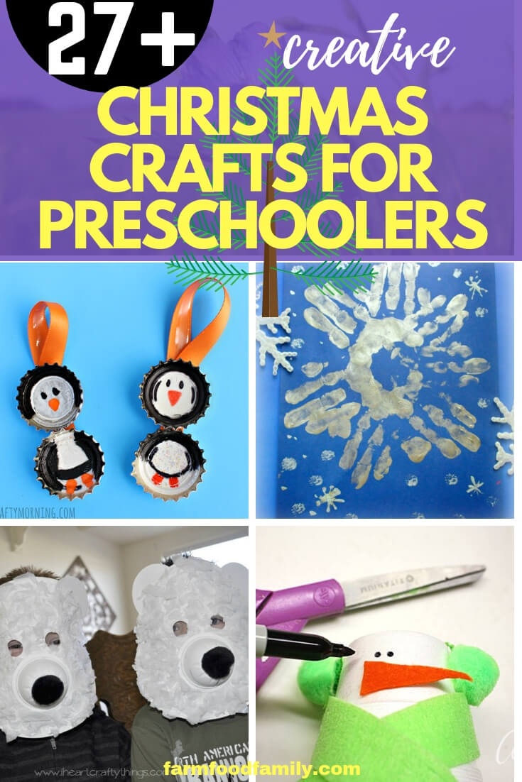 fun & creative christmas craft ideas for preschoolers