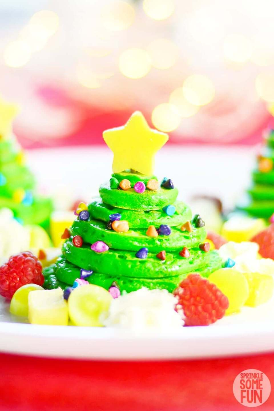 Christmas Tree Pancakes