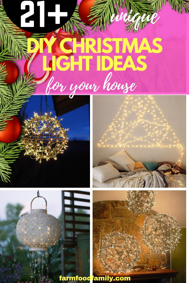 DIY Christmas Light Ideas