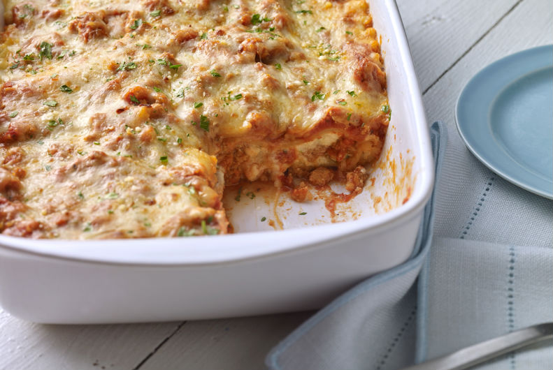 Turkey Lasagna | Ideas For Thanksgiving Leftovers | FarmFoodFamily.com