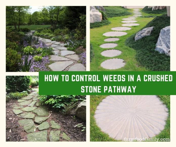 How to Control Weeds in a Crushed Stone Pathway