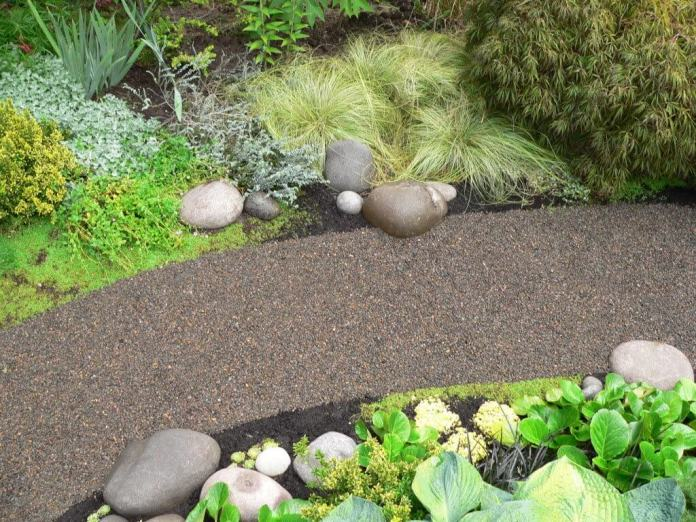 Constructing a Crushed Stone Path
