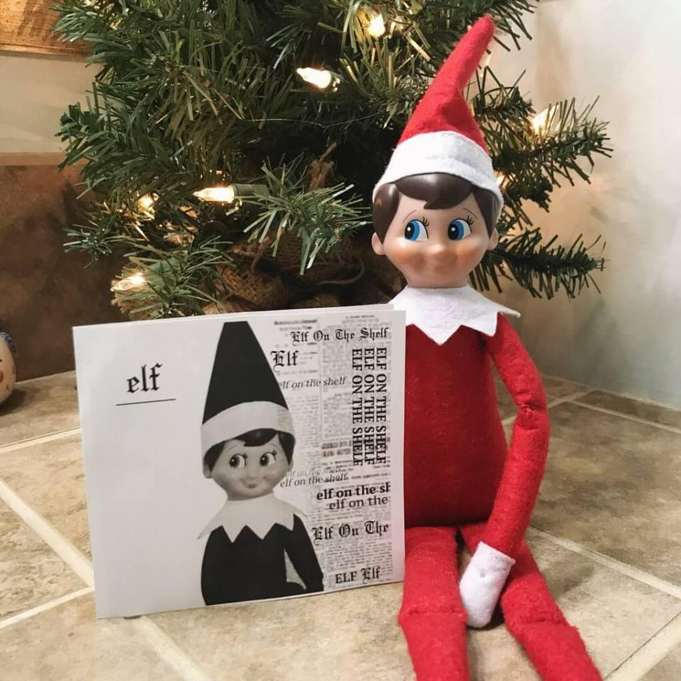 Elf On The Shelf Reputation CD Prop | Fun & Simple Elf on Shelf Ideas For This Christmas