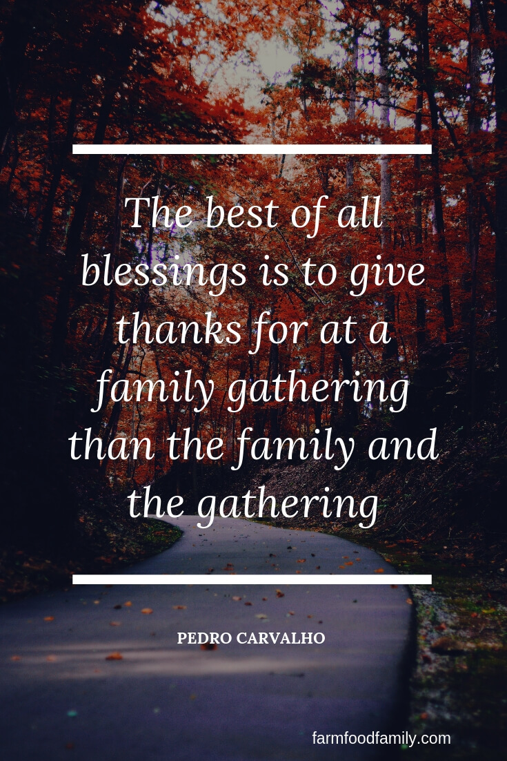thanksgiving quotes family