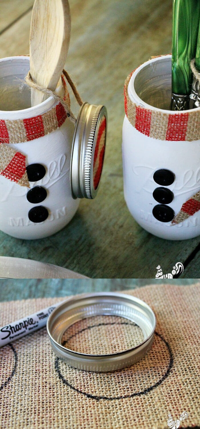 Mason Jar Themed Christmas Gifts | Christmas Spirit Jars Ideas | FarmFoodFamily.com