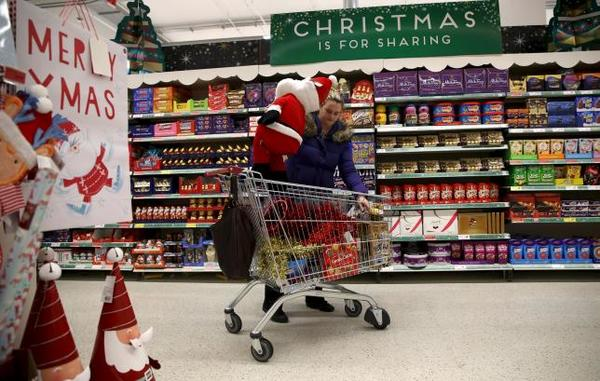 Christmas Grocery Shopping