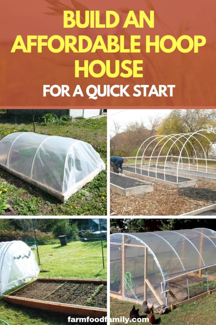 Build an Affordable Hoop House for a Quick Start