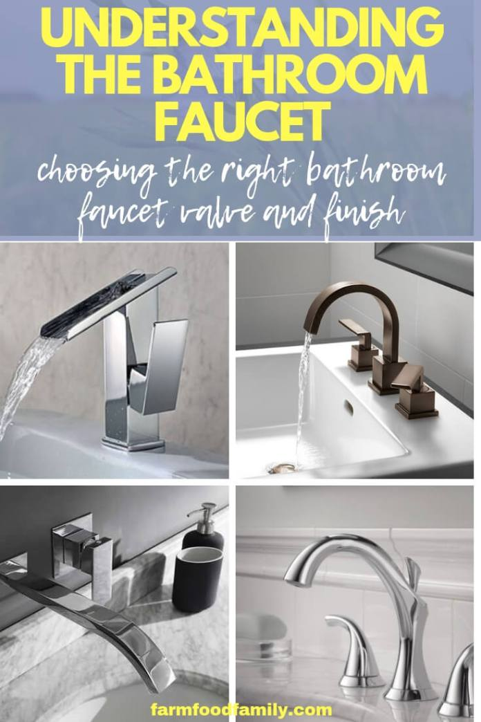 Choosing the Right Bathroom Faucet Valve and Finish for the Job