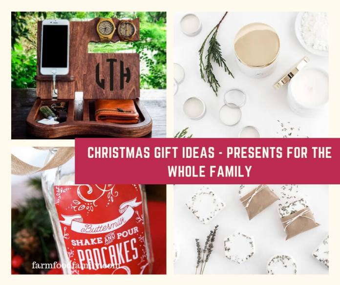 Christmas Gift Ideas - Presents for the Whole Family