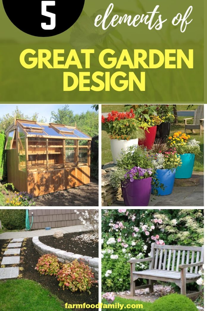 Garden Design: The Five Elements of Great Garden Design