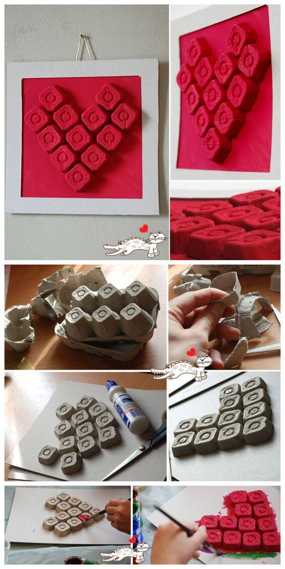 Recycled Egg Cartons | Environmentally-Friendly Valentine's Day Gifts
