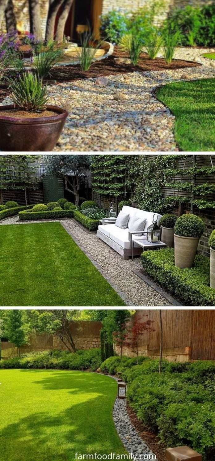 Gravel garden edging ideas