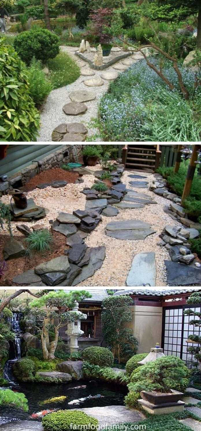 Japanese garden edging ideas