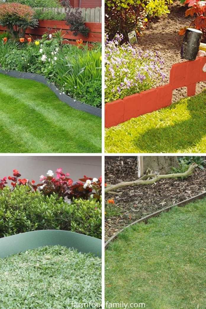 Plastic garden edging ideas