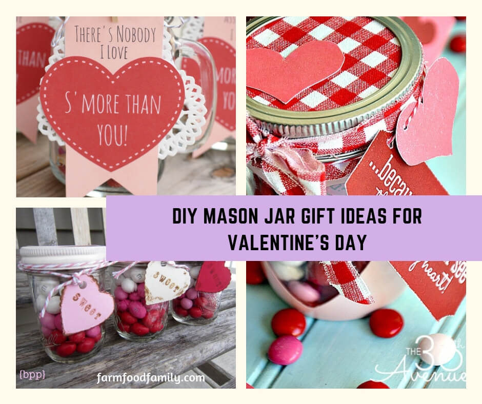 15 Cutest Diy Mason Jar Gift Ideas For Valentine S Day