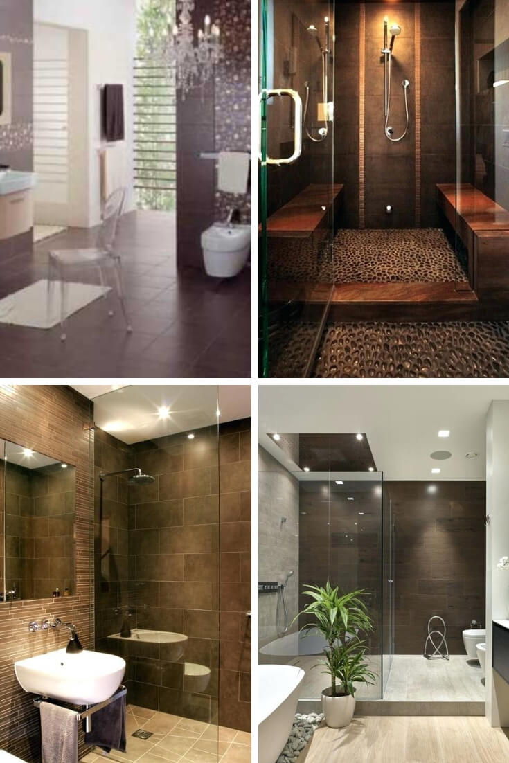 Brown Bathroom Tile Ideas 3 | Bathroom Tile Design: Ideas for Incorporating Tile into the Bathroom Design