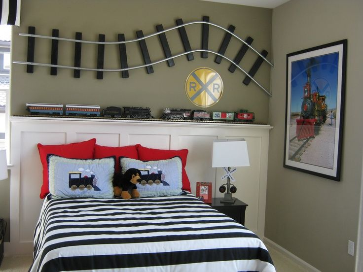 Planes, Trains and Automobiles   Cool Bedroom Ideas For Boys