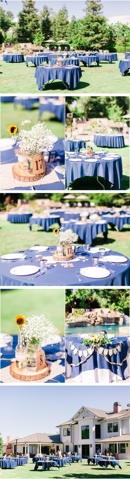 Backyard wedding decor | Creative & Rustic Backyard Wedding Ideas For Summer & Fall