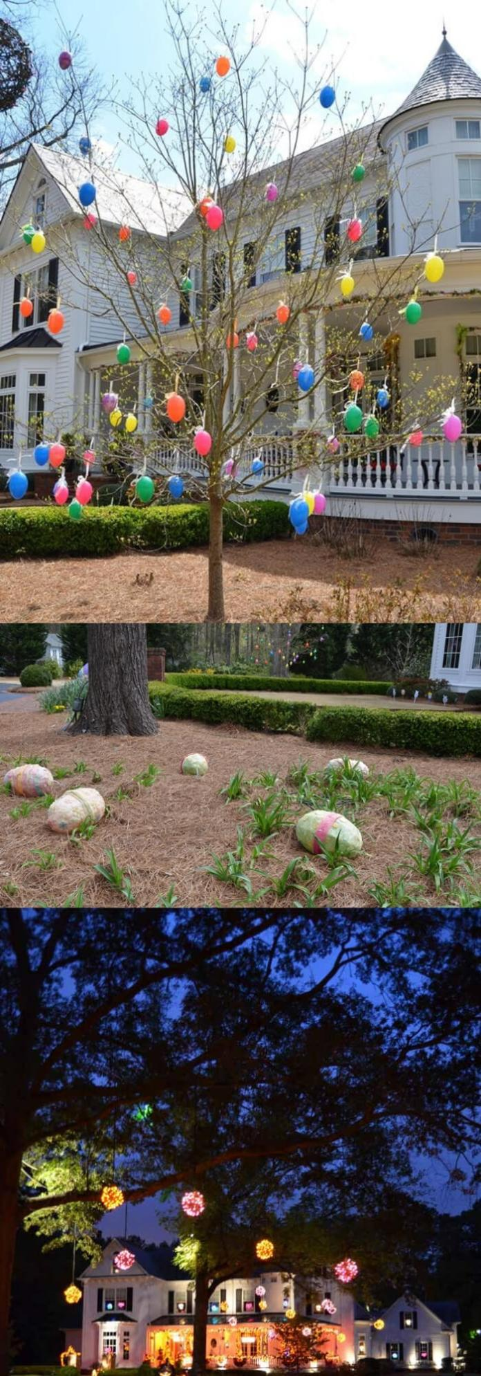 Colorful Easter Garden | Creative Easter Garden Projects & Ideas Your Kids Will Love