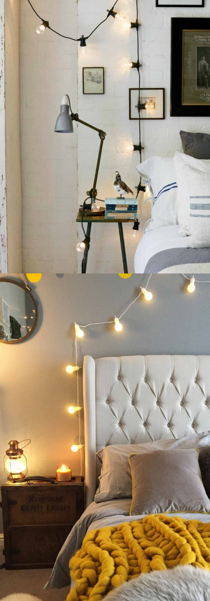 Bulb String Lights | Best Fairy Light Decoration Ideas