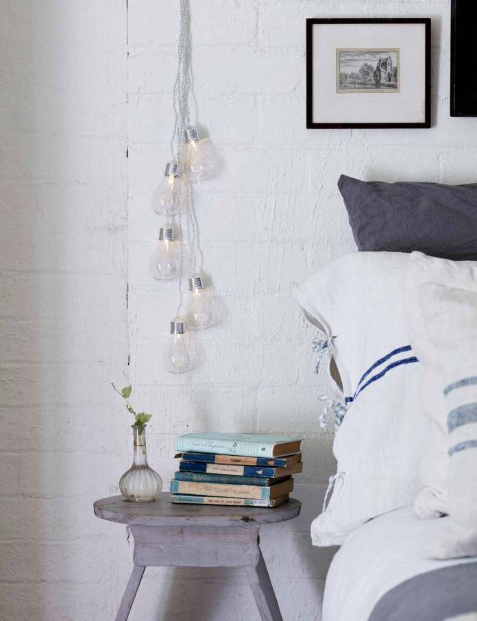 Vintage look | Best Fairy Light Decoration Ideas
