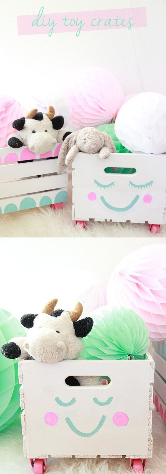 DIY Crate Toy Storage | Best DIY Wood Crate Projects & Ideas