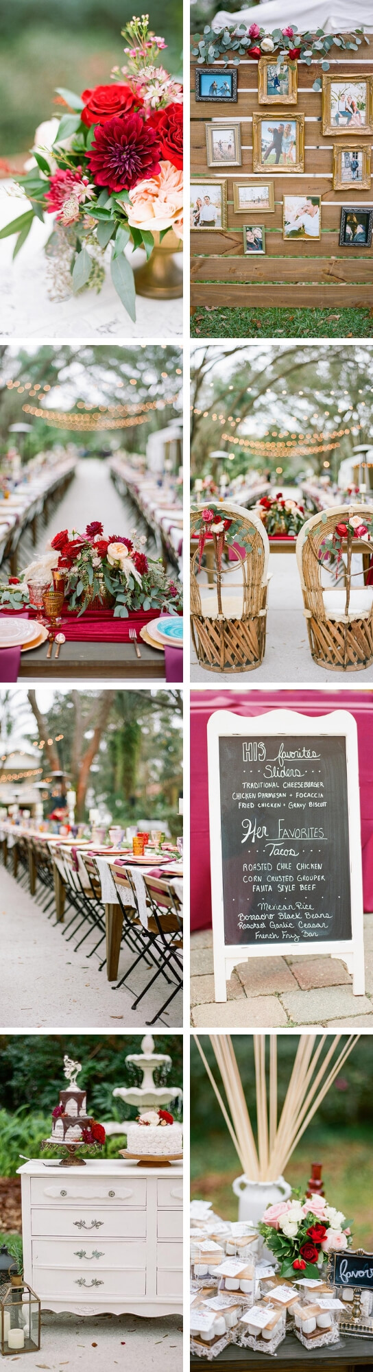 Colorful Eclectic and Vintage Wedding | Creative & Rustic Backyard Wedding Ideas For Summer & Fall