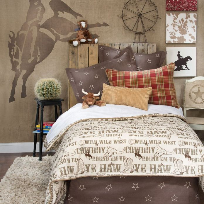 Wild West | Cool Bedroom Ideas For Boys